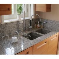 Buy cheap G640 Bianco Sardo Granite Stone Kitchen Worktops Customized Size from wholesalers