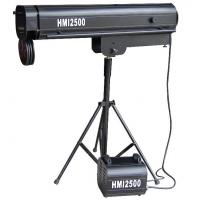 Quality HMI 2500W Remote Control Follow Spot Light For Wedding Concert Stage Theater for sale