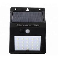 Buy cheap 20 Leds Motion Sensor LED Stair Outdoor Wall Light with 6v Solar Panel from wholesalers