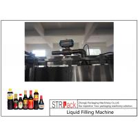 Buy 24 Head Nozzle Automatic Liquid Filling Machine For 0.5 - 2L Wine / Soy Sauce at wholesale prices