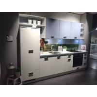 Quality PETG Door Panel Acrylic Kitchen Cabinets Modern Kitchen Cabinet Customized E1 MFC Board for sale