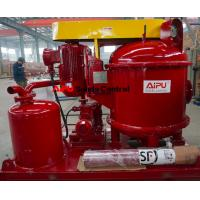 Quality Aipu solids control vacuum degasser used in drilling fluid process system for sale