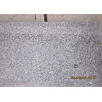 Quality G603 Honed Natural Stone Steps Crystal White Granite Stair Treads And Risers for sale