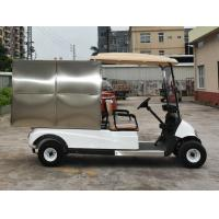 Buy 2 Seats Small Cargo Vehicle Electric Golf Cart With Stainless Steel Container at wholesale prices