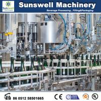 Quality Glass Bottle Beer Production Line Champagne Filling Machine for sale
