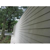 Buy Wood Look Fiber Cement Panel Siding Modern Building Material For Wall Decoration at wholesale prices