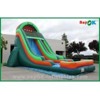 Quality Durable PVC Inflatable Bouncer Slide , Inflatable Water Slide Car Model for sale
