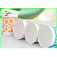 Quality Eco Friendly Food Grade Uncoated Paper 170 - 210 Gsm Cup Stock Paper for sale