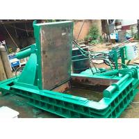 Quality 125t dual drive hydraulic pressing scrap metal steel baling PLC control automatic baler for sale