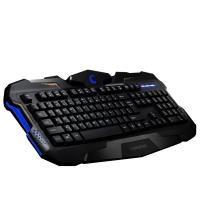 Buy Anti - ghosting Gaming mechanical keyboard blue backlit for desktop and computer at wholesale prices