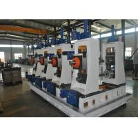 Quality Full Automatic Square Tube Mill / Carbon Steel Welded Pipe Mill for sale