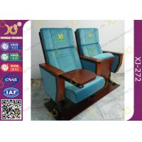 Quality Stacking Tablet Wooden  Musical / Lecture Hall Seating Tip-Up Seat for sale
