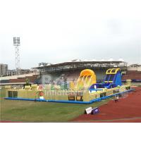 Buy cheap Outdoor Commercial Inflatable Toddler Playground , Big Blow Up Bouncy Castle from wholesalers