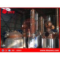Quality industrial alcohol membrane automatic distillation column process for sale