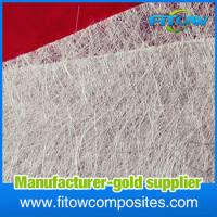 Buy cheap Alkali resistant glass fibre/e-glass/fiber glass chopped strand mat for boat from wholesalers