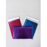 China a4 metallic air bubble lined envelopes poly bubble mailers on sale