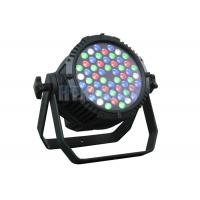 Buy cheap 54 X 3 Watt RGBW / RGB LED Stage Light With 15 Degree Beam Angle DMX Control from wholesalers