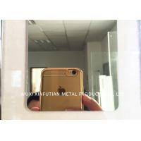 Quality Laser Cutting 316 Stainless Steel Sheet Customized 8K Mirror Finish Surface for sale