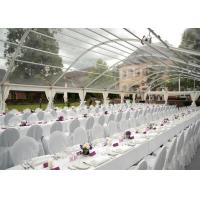 Quality Transparent PVC Tent Frabic Marquee Tents For Party / Wedding 10m * 20m for sale