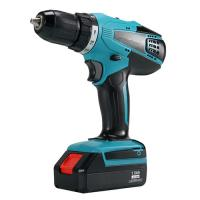 Quality Flat 13mm Chuck 18v Power Drill , Stable Performance Lithium Battery Drill for sale