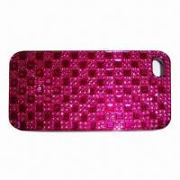 Quality PC Case with Diamonds, Ideal for iPhone 5, Fashionable Design for sale