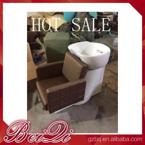 Quality Luxury shampoo bowl chairs hair washing massage shampoo chair salon furniture china for sale