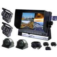 """Quality Analog 4CH TFT Car Monitor 7 """" With 4 Cameras And Extension Cables for sale"""