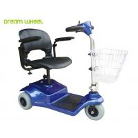 Quality Lightweight 24V Electric 3 Wheel Mobility Scooter 8Km / H For Disabled for sale