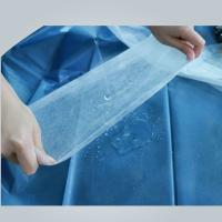 Quality Hydrophilic Non Woven Polypropylene Fabric Roll In Medical Bed Sheet , Good Strength for sale