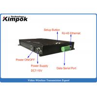 Buy TDD COFDM IP Mesh Video + Audio + data Ethernet Transceiver Two-way Communication at wholesale prices