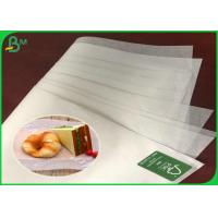 FSC And FDA 35G Greaseproof Coated Burger Wrapping Paper For Mcdonald