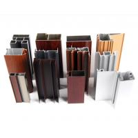 Buy Powder Spray Coated Construction Aluminum Profile /  Customized Sections at wholesale prices