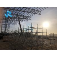 Quality Pavilion Roof Prefabricated Steel Structure With Pir Panel Fire Resistant for sale