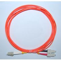 Quality LC-SC MM 62.5/125 Duplex 2.0MM 1M Fiber Optic Patch Cord for sale
