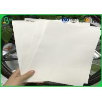 Quality Good Absorbency Uncoated Woodfree Paper / 0.3mm - 3.0mm Absorbent Paper With 100% Wood Pulp for sale