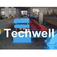 Quality 15 Forming Station Crash Barrier Roll Forming Machine for Highway Guardrail TW-W312 for sale