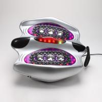 Quality roller foot massager, with heating precussion, low frequency and electrode pads for sale