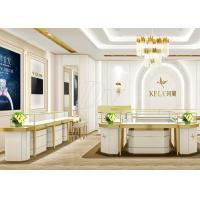 Quality Jewellery Showroom Furniture / Custom Display Cases Professional 3D Design for sale