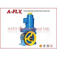 Quality VVVF Geared Elevator Traction Machine 2650KG Max Load , Elevator Winch for sale