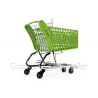 China The carrying capacity of plastic shopping carts in supermarkets on sale