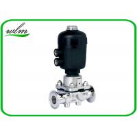 Quality Pharmaceutical Sanitary Diaphragm Valve , Plastic Case Pneumatic Diaphragm Valve for sale