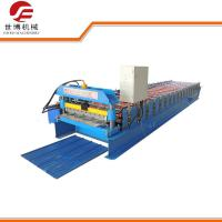 Buy cheap Corrugated Sheet Roll Forming Machine , Glazed Tile Roll Forming Machine from wholesalers