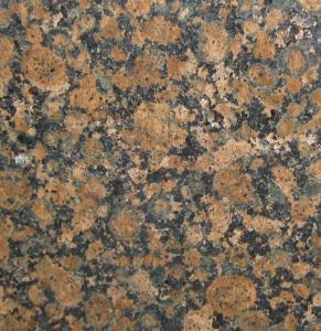 Quality Baltic Brown Granite Slab Countertop , granite bathroom vanity tops for sale