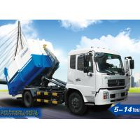 Quality Sanitation Truck, 6tons Garbage trucks XZJ5121ZXX for loading, unloading, and transport street garbage for sale