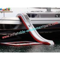 Quality Towable Inflatable Water Toys / Inflatable Yacht Slides By Freestyle Cruiser for sale