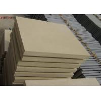 Natural Stone Subway Tile , Interior Yellow Sandstone Wall Tiles For Living Room for sale