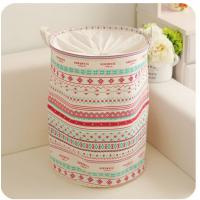 Quality foldable laundry hamper basket with mesh lid for sale