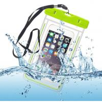 China Water-Resistant Phone Pouch Water-Tight Dry Bag for Cell Phone with Dule-Sides Transparent Windows on sale
