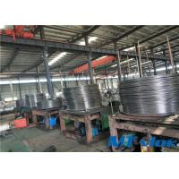Quality ASTM B704 Alloy 825 Nickel Alloy Tube 4200m/coil Length With Excellent Strength for sale