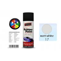 Quality Matt White Rubber Coat Spray Paint Fan - Shaped For Car Wheels APK-8201-17 for sale